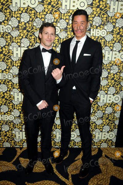 Andy Samberg Photo - 10 January 2016 - Beverly Hills California - Andy Samberg Chester Tam HBO 2016 Golden Globe Awards After Party held at Circa 55 Photo Credit Byron PurvisAdMedia