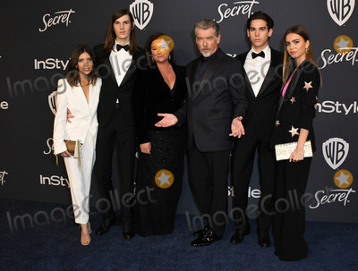 Pierce Brosnan Photo - 05 January 2020 - Beverly Hills California - Pierce Brosnan 21st Annual InStyle and Warner Bros Golden Globes After Party held at Beverly Hilton Hotel Photo Credit Birdie ThompsonAdMedia