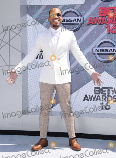 Anderson Peck Photo - 26 June 2016 - Los Angeles Anderson Peck Arrivals for the 2016 BET Awards held at the Microsoft Theater Photo Credit Birdie ThompsonAdMedia