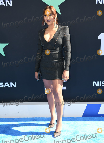 Ayesha Curry Photo - 23 June 2019 - Los Angeles California - Ayesha Curry 2019 BET Awards held at the Microsoft Theater Photo Credit Birdie ThompsonAdMedia