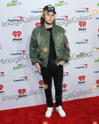 Logan Shroyer Photo - 06 December 2019 - Los Angeles California - Logan Shroyer KIIS FMs iHeartRadio Jingle Ball 2019 held at The Forum Photo Credit Birdie ThompsonAdMedia
