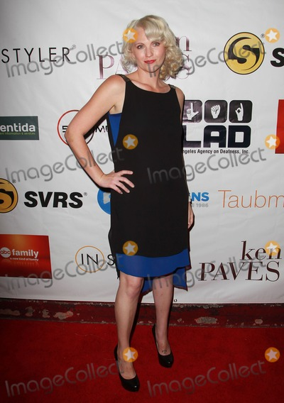 Amber Zion Photo - 30 September 2012 - West Hollywood California - Amber Zion Ken Paves Hosts the 10th Annual GLAD Benefit Toward Equal Access for the Deaf and Hard of Hearing Held At The House of Blues Photo Credit Kevan BrooksAdMedia