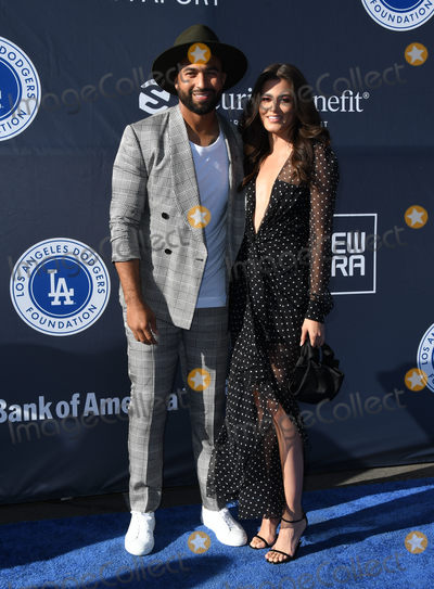 Amber Alvarez Photo - 11 June 2018 - Los Angeles California - Matt Kemp Amber Alvarez 4th Annual Los Angeles Dodgers Foundation Blue Diamond Gala held at Dodger Stadium Photo Credit Birdie ThompsonAdMedia