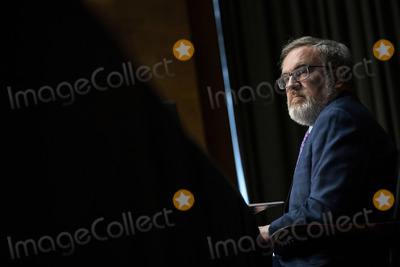 Andrew Wheeler Photo - Andrew Wheeler Administrator United States Environmental Protection Agency (EPA) listens during a US Senate Environment and Public Works Committee hearing on Capitol Hill in Washington DC US on Wednesday May 20 2020 Credit Al Drago  Pool via CNPAdMedia