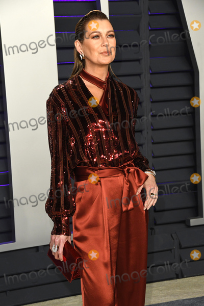Ellen Pompeo Photo - 24 February 2019 - Los Angeles California - Ellen Pompeo 2019 Vanity Fair Oscar Party following the 91st Academy Awards held at the Wallis Annenberg Center for the Performing Arts Photo Credit Birdie ThompsonAdMedia