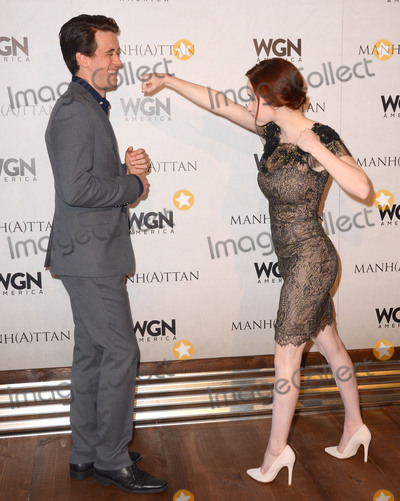 Ashley Zukerman Photo - 02 May 2015 - Hollywood California - Ashley Zukerman Rachel Brosnahan WGN Americas Manhattan For Your Consideration screening event held at Linwood Dunn Theater (at the Pickford Center for Motion Picture Study) Photo Credit Birdie ThompsonAdMedia