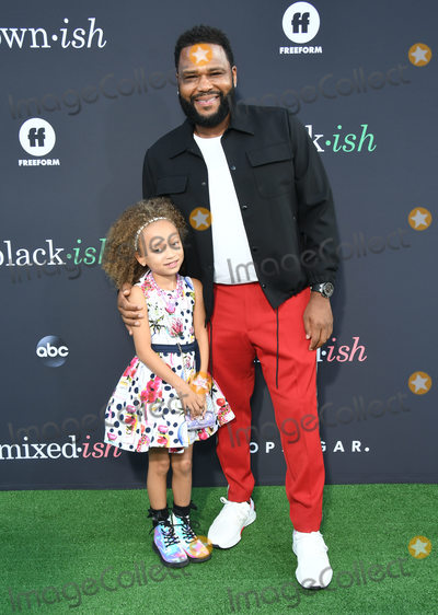 Anthony Anderson Photo - 17 September 2019 - Hollywood California - Anthony Anderson Mykal-Michelle Harris Mixed-ish Popsugar Embrace Your Ish Los Angeles Premiere held at Goya Studios Photo Credit Birdie ThompsonAdMedia
