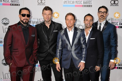 AJ MCLEAN Photo - 18 November 2012 - Los Angeles California - AJ McLean Nick Carter Brian Littrell Howie Dorough Kevin Richardson Backstreet Boys 40th Anniversary American Music Awards - Arrivals held at Nokia Theatre LA Live Photo Credit Byron PurvisAdMedia