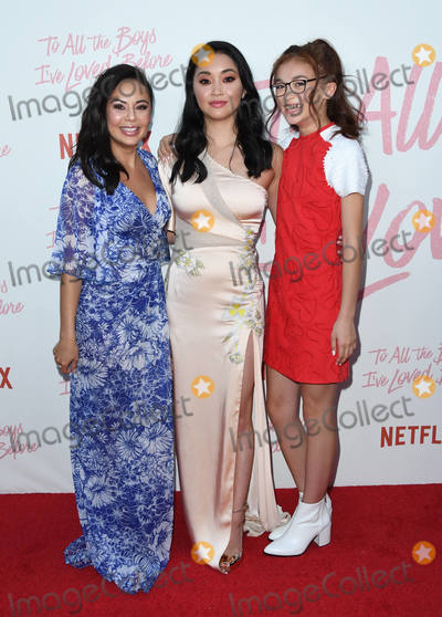 Anna Cathcart Photo - 16 August 2018 - Culver City California - Janel Parrish Lana Condor Anna Cathcart Netflixs to All the Boys Ive Loved Before Los Angeles Screening held at Arclight Culver City Photo Credit Birdie ThompsonAdMedia