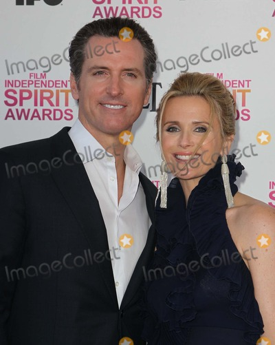 Jennifer Siebel Photo - 23 February 2013 - Santa Monica California - Gavin Newsom Jennifer Siebel 2013 Film Independent Spirit Awards - Arrivals  Held At Santa Monica Beach Photo Credit Faye SadouAdMedia