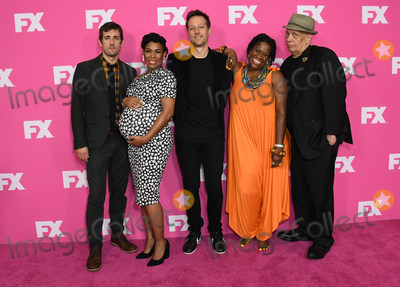Angela Lewis Photo - 06 August 2019 - Beverly Hills California - Carter Hudson Angela Lewis Dave Andron Michael Hyatt Walter Mosley 2019 FX Networks Summer TCA held at Beverly Hilton Hotel Photo Credit Birdie ThompsonAdMedia