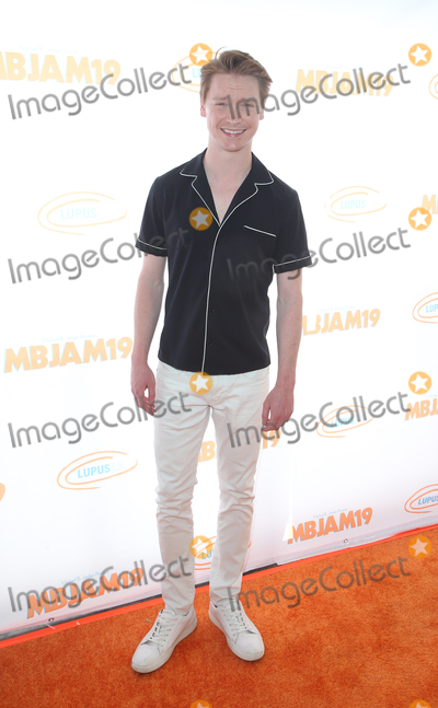 Calum Worthy Photo - 27 July 2019 - Hollywood California - Calum Worthy Michael B Jordan And Lupus LA Present 3rd Annual MBJAM19 held at Dave  Busters Photo Credit FSadouAdMedia