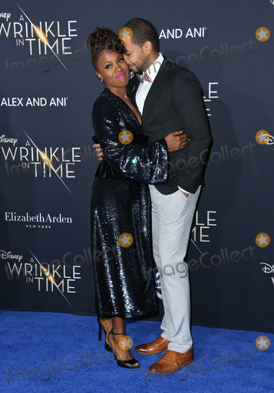 Alano Miller Photo - 26 February 2018 - Hollywood California - DeWanda Wise Alano Miller Disneys A Wrinkle In Time World Premiere held at El Capitan Theatre Photo Credit Birdie ThompsonAdMedia