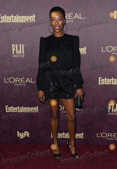 Samira Wiley Photo - 15 September 2018 - West Hollywood California - Samira Wiley 2018 Entertainment Weekly Pre-Emmy Party held at the Sunset Tower Hotel Photo Credit Birdie ThompsonAdMedia