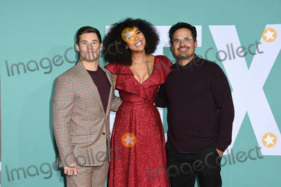 Alexandra Shipp Photo - 03 October 2019 - Westwood California - Adam Devine Alexandra Shipp Michael Pena Jexi Los Angeles Premiere held at Fox Bruin Theater Photo Credit Birdie ThompsonAdMedia
