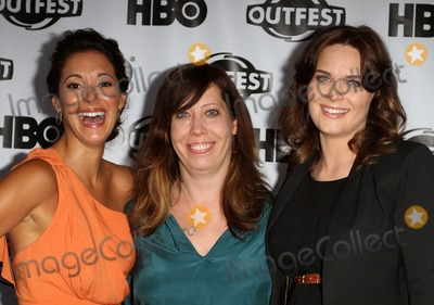 Angelique Cabral Photo - 17 July 2011 - West Hollywood California - Angelique Cabral Kirsten Schaffer and Emily Deschanel 2011 Outfest Film Festival Screening Of The Perfect Family Closing Night- Arrivals  Held At The DGA Theatre Photo Credit Kevan BrooksAdMedia