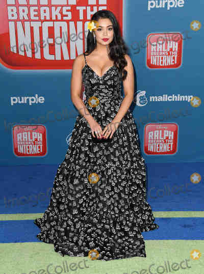 Aulii Cravalho Photo - 05 November 2018 - Hollywood California - Aulii Cravalho Disneys Ralph Breaks the Internet Los Angeles Premiere held at El Capitan Theater Photo Credit Birdie ThompsonAdMedia