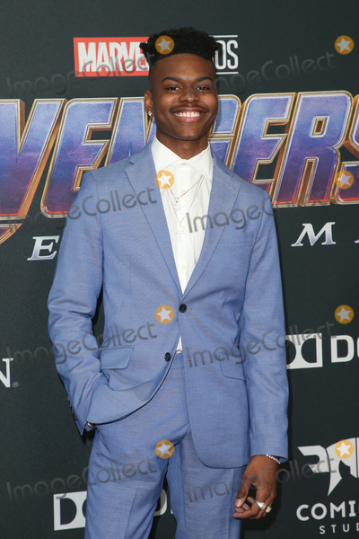 Aubrey Joseph Photo - 22 April 2019 - Los Angeles California - Aubrey Joseph Marvel Studios Avengers Endgame Los Angeles Premiere held at Los Angeles Convention Center Photo Credit F SadouAdMedia