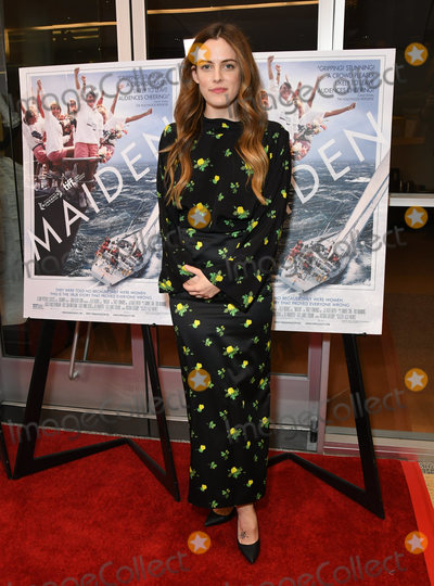 Riley Keough Photo - 14 June 2019 - Los Angeles California - Riley Keough Maiden Los Angeles Premiere held at Linwood Dunn Theater Photo Credit Birdie ThompsonAdMedia