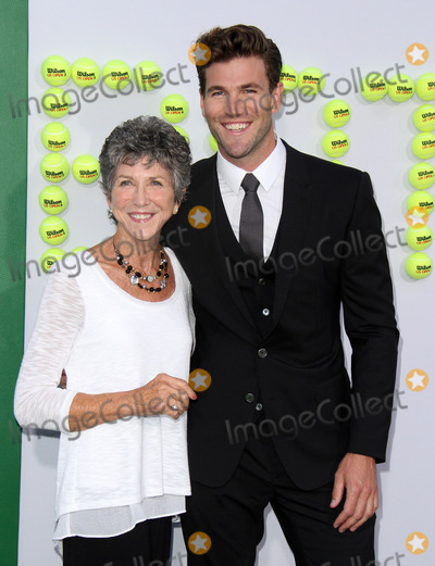 Austin Stowell Photo - 16 September 2017 - Beverly Hills California - Austin Stowell with mother Beth Stowell Battle Of The Sexes Los Angeles Premiere held at the Regency Village Theatre in Los Angeles Photo Credit AdMedia
