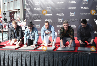 Howie Dorough Photo - 12 April 2019 - Las Vegas NV - BackStreet Boys Brian Littrell AJ McLean Howie Dorough Nick Carter Kevin Richardson Backstreet Boys Hand print ceremony at Planet Hollywood Resort and Casino Photo Credit MJTAdMedia