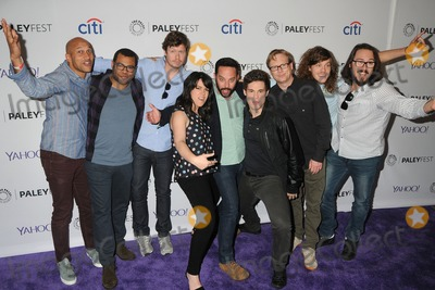 Andy Daly Photo - 7 March 2015 - Hollywood California - Keegan-Michael Key Jordan Peele Anders Holm Abbi Jacobson Nick Kroll Adam DeVine Andy Daly Blake Anderson Kyle Newacheck PaleyFest 2015 - Salute To Comedy Central held at the Dolby Theatre Photo Credit Byron PurvisAdMedia
