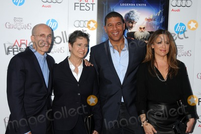 Nancy Bernstein Photo - 4 November 2012 - Hollywood California - Jeffrey Katzenberg Nancy Bernstein Peter Ramsey Christina Steinberg AFI FEST 2012 Rise of the Guardians Gala Screening held at Graumans Chinese Theatre Photo Credit Byron PurvisAdMedia