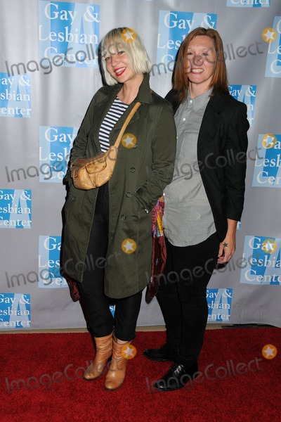 Sia Furler Photo - 19 May 2012 - Beverly Hills California - Sia Furler Patty Schemel LA Gay  Lesbian Centers An Evening With Women 2012 held at the Beverly Hilton Hotel Photo Credit Byron PurvisAdMedia