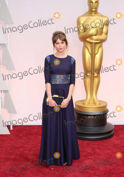 Agata Trzebuchowska Photo - 22 February 2015 - Hollywood California - Agata Trzebuchowska 87th Annual Academy Awards presented by the Academy of Motion Picture Arts and Sciences held at the Dolby Theatre Photo Credit AdMedia