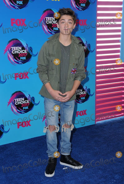Asher Angel Photo - 13 August  2017 - Los Angeles California - Asher Angel Teen Choice Awards 2017 held at the Galen Center in Los Angeles Photo Credit Birdie ThompsonAdMedia