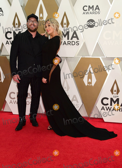 CMA Award Photo - 13 November 2019 - Nashville Tennessee - Mitchell Tenpenny Meghan Patrick 53rd Annual CMA Awards Country Musics Biggest Night held at Music City Center Photo Credit Laura FarrAdMedia