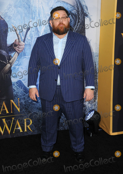 Nick Frost Photo - 11 April 2016 - Westwood California - Nick Frost Arrivals for the American Premiere of Universal Pictures The HuntsmanWinters War held at Regency Theater Village Photo Credit Birdie ThompsonAdMedia