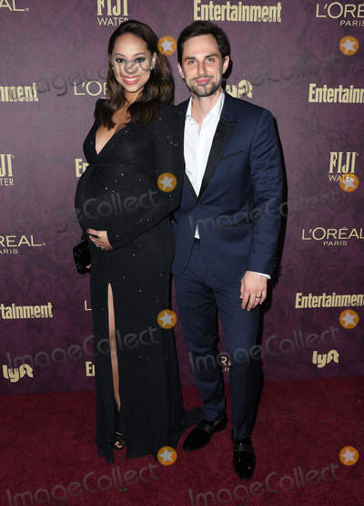 Amber Stevens-West Photo - 15 September 2018 - West Hollywood California - Amber Stevens West Andrew West 2018 Entertainment Weekly Pre-Emmy Party held at the Sunset Tower Hotel Photo Credit Birdie ThompsonAdMedia
