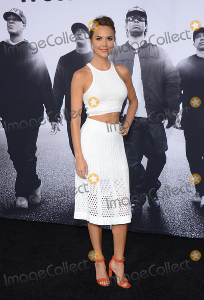 ARIELE KEBBEL Photo - 10 August 2015 - Los Angeles California - Arielle Kebbel Premiere Of Universal Pictures And Legendary Pictures Straight Outta Compton held at Microsoft Theater Photo Credit Tonya WiseAdMedia