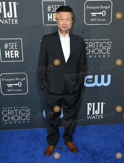 Tzi Ma Photo - 12 January 2020 - Santa Monica California - Tzi Ma 25th Annual Criticis Choice Awards - Arrivals held at Barker Hangar Photo Credit Birdie ThompsonAdMedia