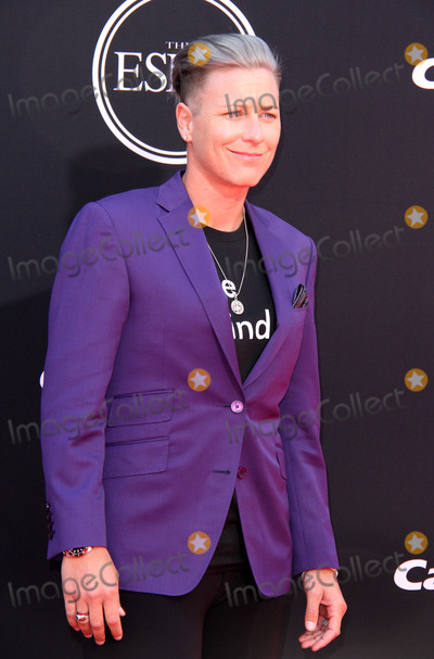 Abby Wambach Photo - 12 July 2017 - Los Angeles California - Abby Wambach 2017 ESPYS Awards Arrivals held at the Microsoft Theatre in Los Angeles Photo Credit AdMedia