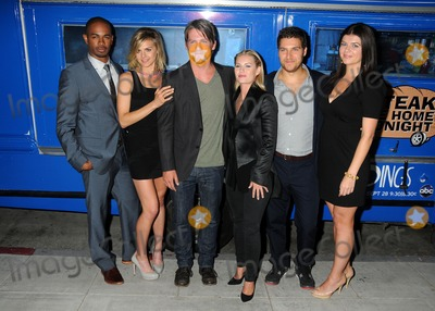 Adam Pally Photo - 29 August 2011 - Beverly Hills California - Damon Wayans Jr Eliza Coupe Zachary Knighton Elisha Cuthbert Adam Pally and Casey Wilson The Paley Center Hosts An Evening With Happy Endings held at The Paley Center for Media Photo Credit Byron PurvisAdMedia