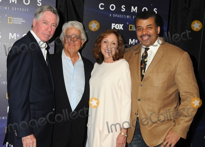 Ann Druyan Photo - 3 August 2014 - Beverly Hills California - Alan Silvestri Mitchell Cannold Ann Druyan Neil DeGrasse Tyson Cosmos A Spacetime Odyssey Screening and QA Panel held at The Paley Center For Media Photo Credit Byron PurvisAdMedia