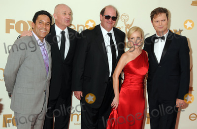 Creed Bratton Photo - 18 September 2011 - Los Angeles California - Oscar Nunez Creed Bratton Brian Baumgartner Angela Kinsey and Rainn Wilson 63rd Primetime Emmy Awards held at Nokia Theatre LA Live Photo Credit Byron PurvisAdMedia