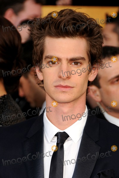 Andrew Garfield Photo - 30 January 2011 - Los Angeles California - Andrew Garfield 17th Annual Screen Actors Guild Awards held at The Shrine Auditorium Photo Byron PurvisAdMedia