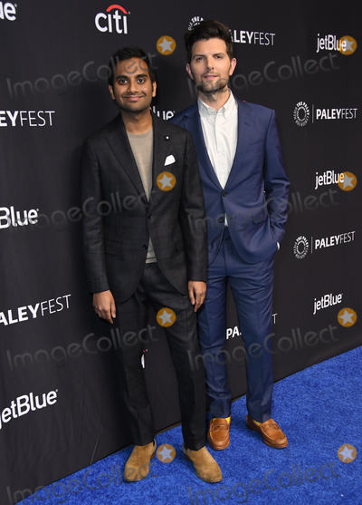 Adam Scott Photo - 21 March 2019 - Hollywood California - Aziz Ansari Adam Scott 2019 PaleyFest LA - NBCs Parks and Recreation 10th Anniversary Reunion held at The Dolby Theater Photo Credit Birdie ThompsonAdMedia