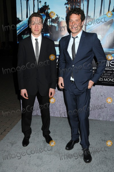 Alan Polsky Photo - 22 March 2011 - Los Angeles California - Gabe Polsky and Alan Polsky HBOs His Way Los Angeles Premiere held at Paramount Studios Photo Byron PurvisAdMedia