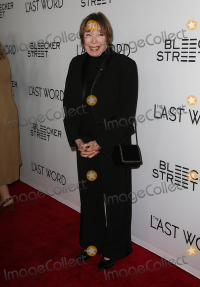 Shirley Maclaine Photo - 01 March 2017 - Hollywood California - Shirley MacLaine The Last Word Los Angeles Premiere held at ArcLight Hollywood Photo Credit AdMedia