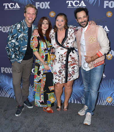 Aya Cash Photo - 02 August 2018 - West Hollywood California - Chris Geere Aya Cash Kether Donohue 2018 FOX Summer TCA held at Soho House Photo Credit Birdie ThompsonAdMedia