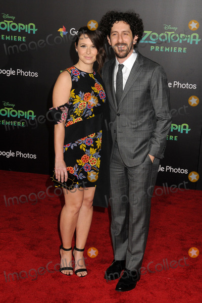 Adam Shapiro Photo - 17 February 2016 - Hollywood California - Katie Lowes Adam Shapiro Zootopia Los Angeles Premiere held at the El Capitan Theatre Photo Credit Byron PurvisAdMedia