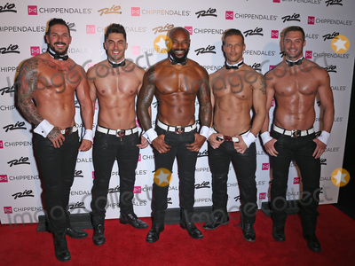 Tyson Beckford Photo - 07 April 2017 - Las Vegas Nevada - Mikey Perez James Davis Tyson Beckford Sami Eskelin Jon Howes Tyson Beckford Begins Celebrity Guest Host In Residency With The Chippendales at the Rio In Las Vegas Photo Credit MJTAdMedia