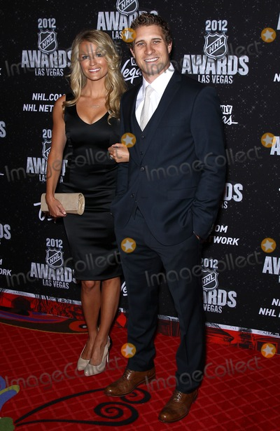 John-Michael Liles Photo - 20 June 2012 - Las Vegas Nevada -  Erin Johnson John-Michael Liles 2012 NHL Awards at the Encore Theater at the Wynn Las VegasPhoto Credit MJTAdMedia