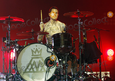 Andy Hurley Photo - May 14 2013 - Milwaukee WI - Hit poprock band Fall Out Boy opened their SpringSummer 2013 tour at The RaveEagles Club in downtown Milwaukee where they performed their well-known hits along with new material for a sold-out crowd of young fans Photo credit Dan HarrAdmedia