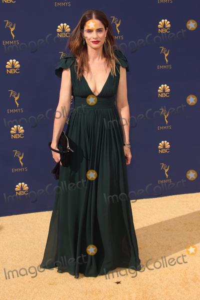 Amanda Peete Photo - 17 September 2018 - Los Angles California - Amanda Peet 70th Primetime Emmy Awards held at Microsoft Theater LA LIVE Photo Credit Faye SadouAdMedia