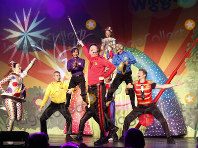 The Wiggles Photo - July 31 2012 - Atlanta GA - Childrens entertainment group The Wiggles made a stop at the historic Fox Theater in downtown Atlanta where they played two sold-out shows packed with families who are fans of the Australian television performers  The Wiggles have been together for 21 years and this year three of the original members are retiring from the group  This tour marks the last of the original members Photo credit Dan HarrAdMedia